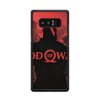 God Of War Games Poster Silhouette Samsung Galaxy Note 8 Case