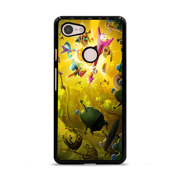 Guitar Rayman Legends Games Google Pixel 3 XL Case