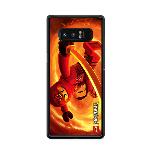 Kai Red Ninja Ninjago Samsung Galaxy Note 8 Case
