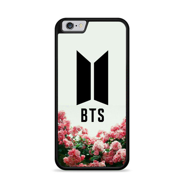 Bts Pink Flowers For Kpop Army iPhone 6|6S Case