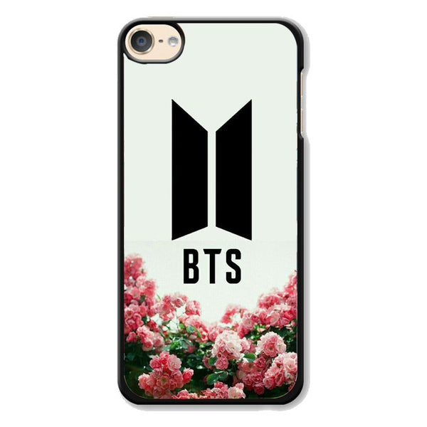 Bts Pink Flowers For Kpop Army iPod 6 Case