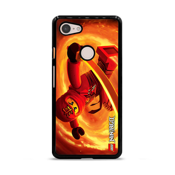 Kai Red Ninja Ninjago Google Pixel 3 XL Case
