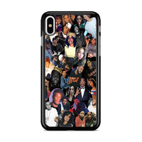 All Stars Artist Influencer Rap Collage iPhone XS Max Case