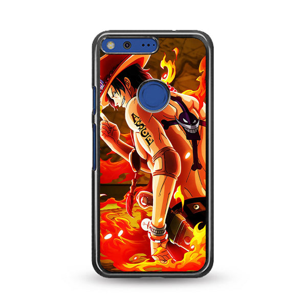 Ace Onepiece On Fire Google Pixel Case