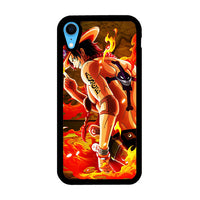 Ace Onepiece On Fire iPhone XR Case
