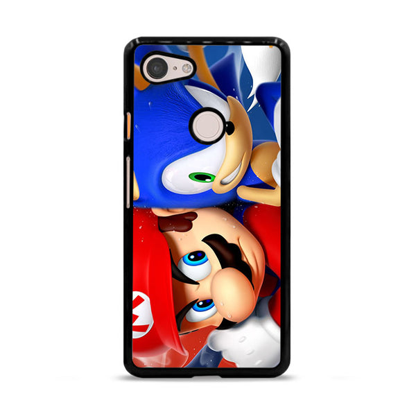 Mario Vs Sonic Google Pixel 3 XL Case
