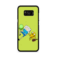 Adventure Time In Yard Samsung Galaxy S8 Plus Case