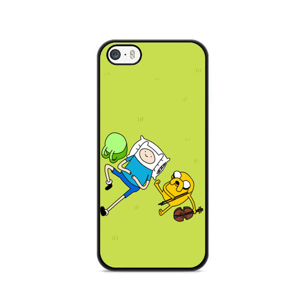 Adventure Time In Yard iPhone 5|5S|SE Case