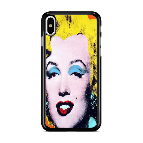 Andy Warhol Beatiful Monroe iPhone XS Case