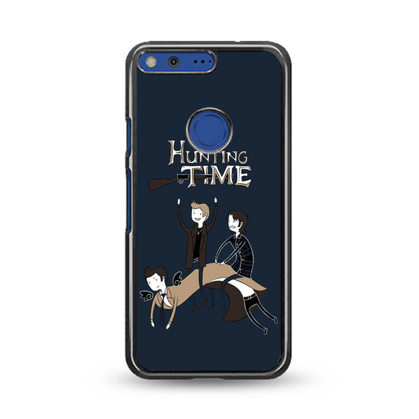 Adventure Time Meme Hunting Time Google Pixel Case
