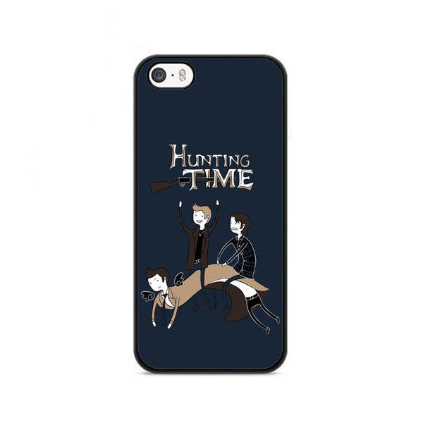 Adventure Time Meme Hunting Time iPhone 5|5S|SE Case