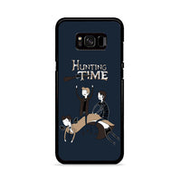 Adventure Time Meme Hunting Time Samsung Galaxy S8 Plus Case