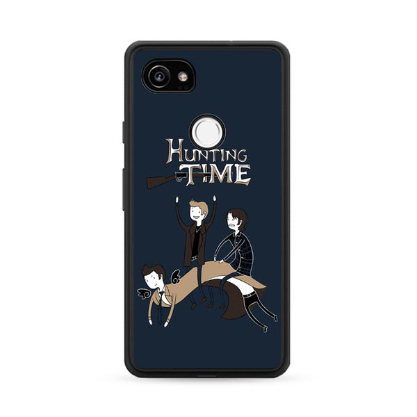 Adventure Time Meme Hunting Time Google Pixel 2 Case