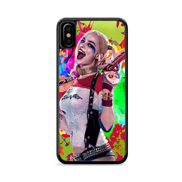 harley queen pop art suicide squad iPhone XS Max Case