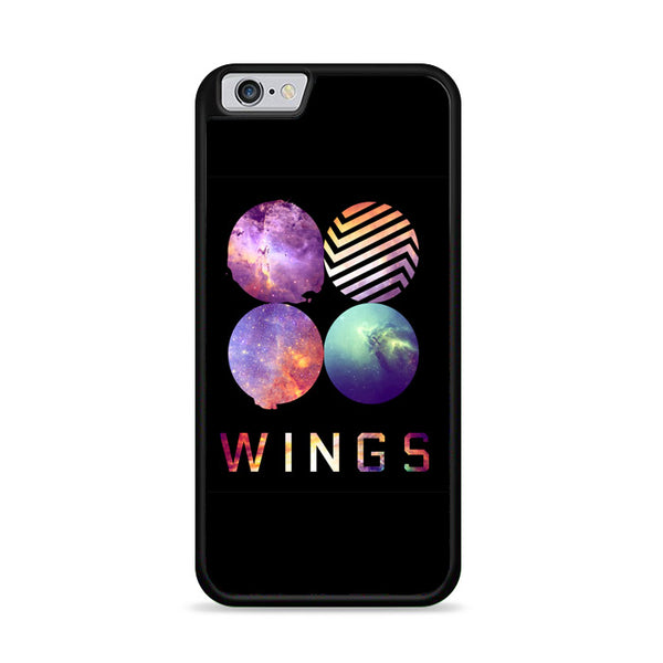 Bts Wings Milky Way Galaxy Style iPhone 6|6S Case