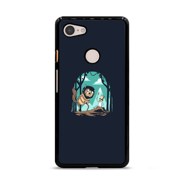 Adventure Time Primitive Cave Google Pixel 3 XL Case