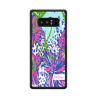Pawsitive Cattitude Cat Print Lilly Pulitzer Samsung Galaxy Note 8 Case