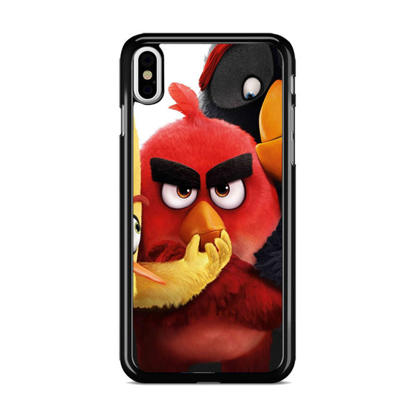 Angry Birds Red Chubby Cute iPhone XS Case