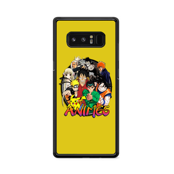 Animes Circle Action Collection Samsung Galaxy Note 8 Case