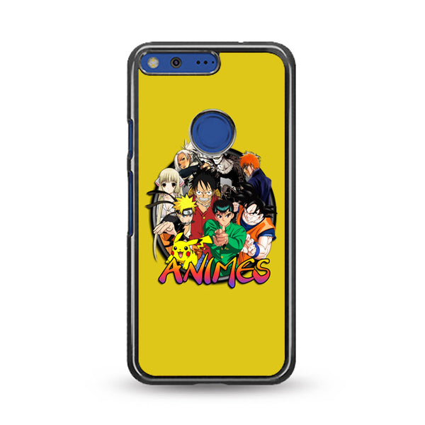 Animes Circle Action Collection Google Pixel Case