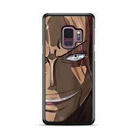 Akagami Shanks Onepiece Face Samsung Galaxy S9 Plus Case