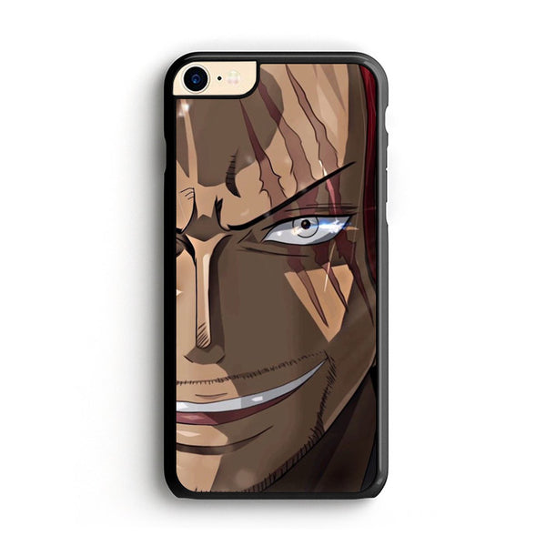Akagami Shanks Onepiece Face iPhone 8 Case