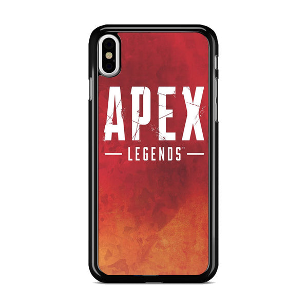 Apex Legends Logo Background iPhone XS Case