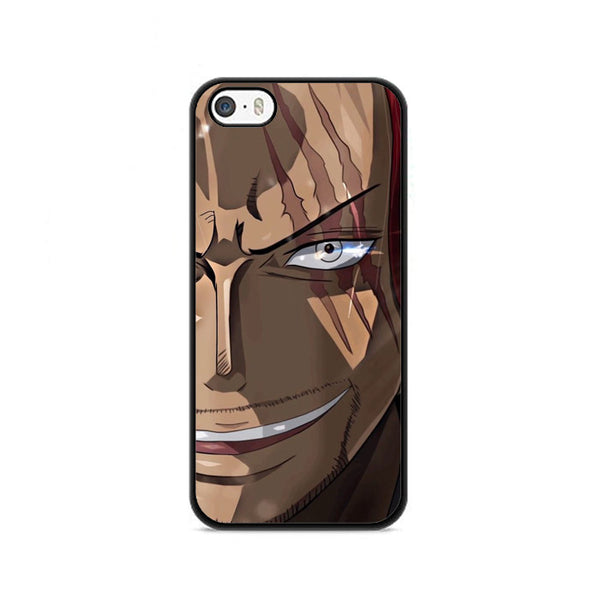 Akagami Shanks Onepiece Face iPhone 5|5S|SE Case