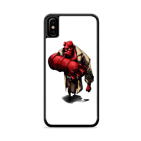 hellboy character red devil iPhone X Case