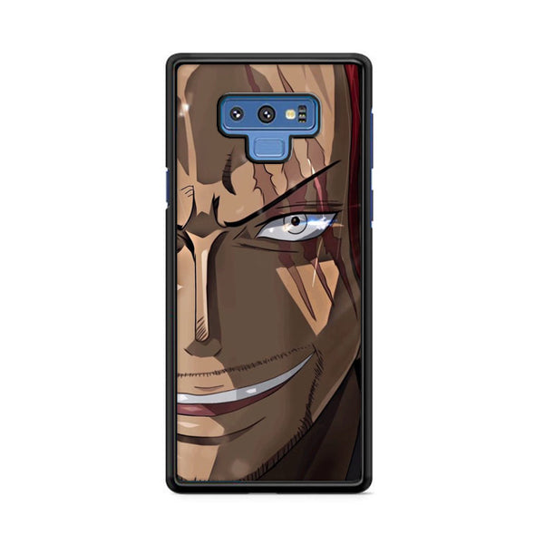 Akagami Shanks Onepiece Face Samsung Galaxy Note 9 Case