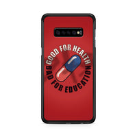 Akira Good For Health Bad Education Samsung Galaxy S10 Plus Case