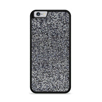 All That Glitter Charcoal Silver Crystal iPhone 6 Plus|6S Plus Case