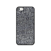 All That Glitter Charcoal Silver Crystal iPhone 5|5S|SE Case