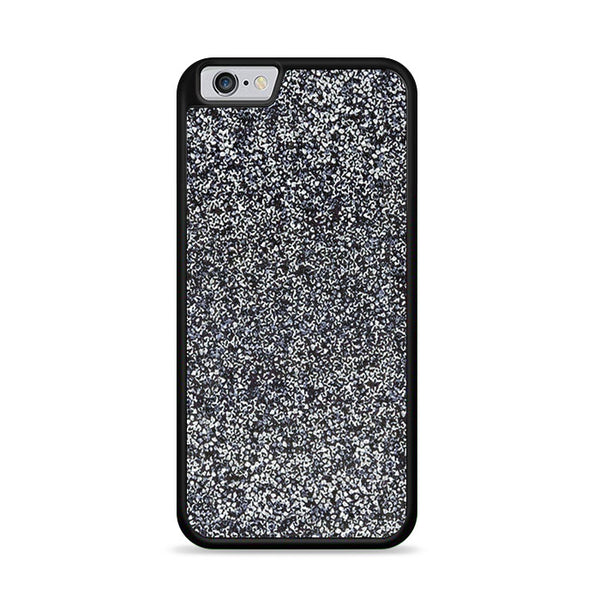 All That Glitter Charcoal Silver Crystal iPhone 6|6S Case