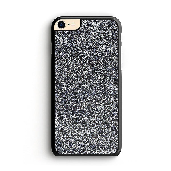 All That Glitter Charcoal Silver Crystal iPhone 7 Case