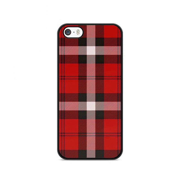 As If! Red Plaid iPhone 5|5S|SE Case