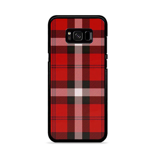 As If! Red Plaid Samsung Galaxy S8 Case