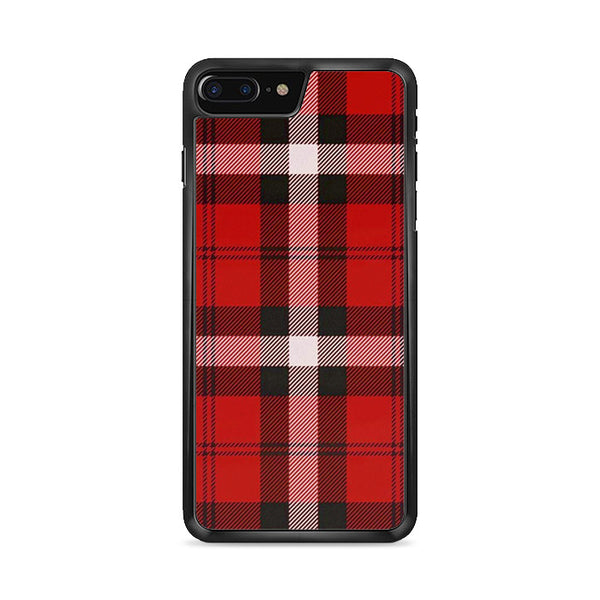 As If! Red Plaid iPhone 8 Plus Case