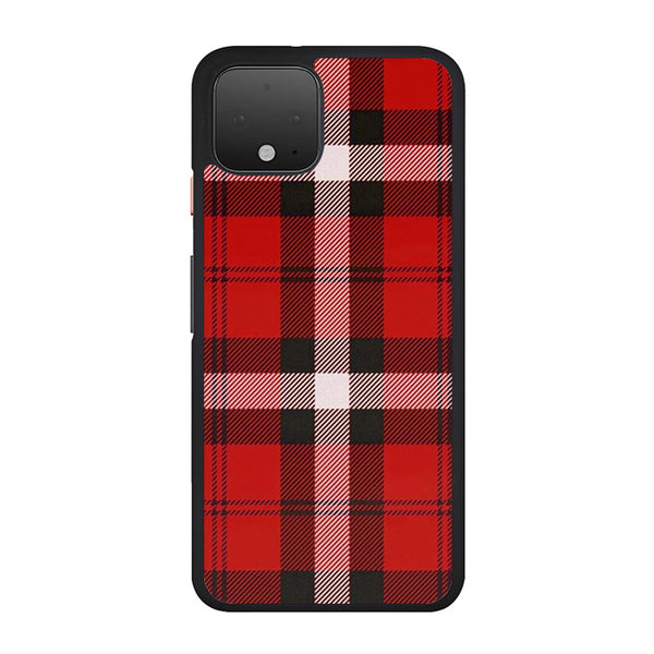 As If! Red Plaid Google Pixel 4 XL Case