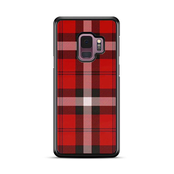 As If! Red Plaid Samsung Galaxy S9 Plus Case