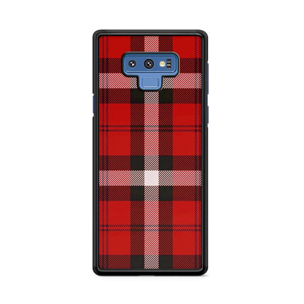 As If! Red Plaid Samsung Galaxy Note 9 Case