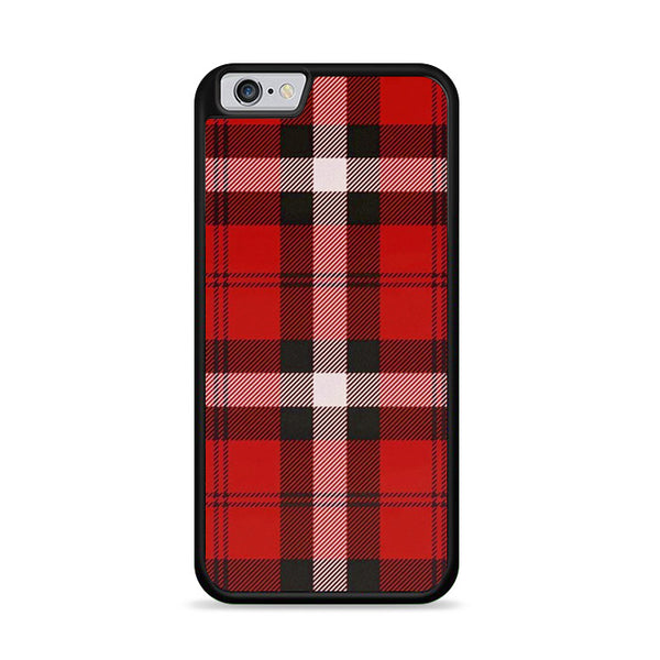 As If! Red Plaid iPhone 6|6S Case