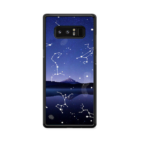 Astronomy Star Gazing X Mountain Lake Samsung Galaxy Note 8 Case