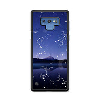 Astronomy Star Gazing X Mountain Lake Samsung Galaxy Note 9 Case