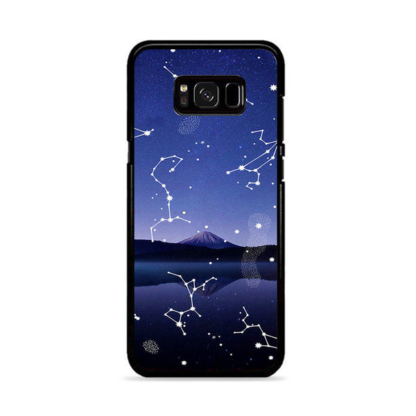 Astronomy Star Gazing X Mountain Lake Samsung Galaxy S8 Case