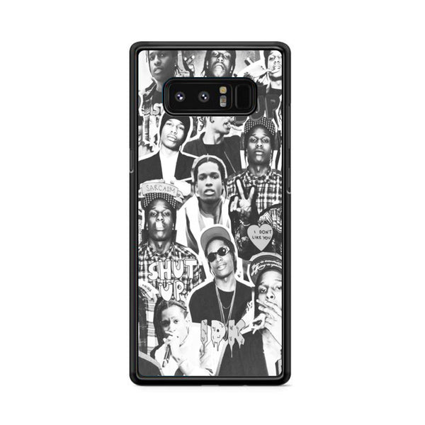 Asap Rocky Photo Collage Bw Samsung Galaxy Note 8 Case
