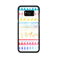 Birds X Plants Hand Drawn Tribal Samsung Galaxy S8 Case