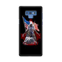 Assassin Creed 3 American Flag_ Samsung Galaxy Note 9 Case