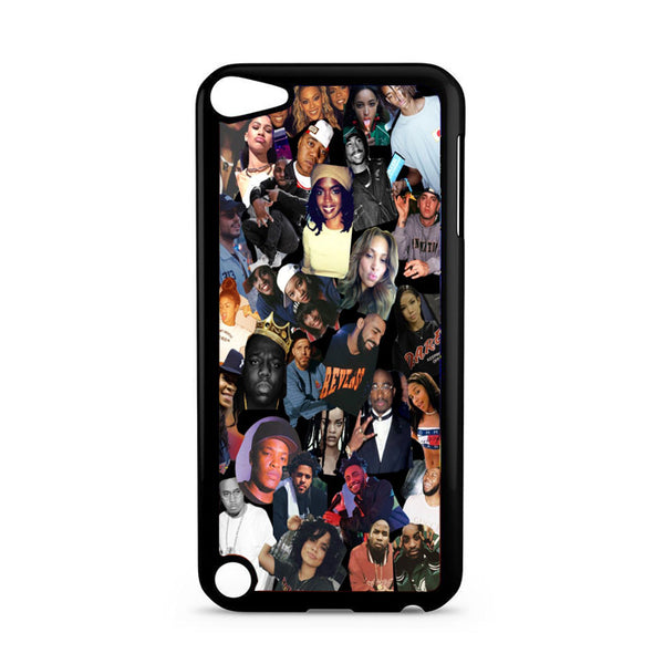 All Stars Artist Influencer Rap Collage iPod 5 Case