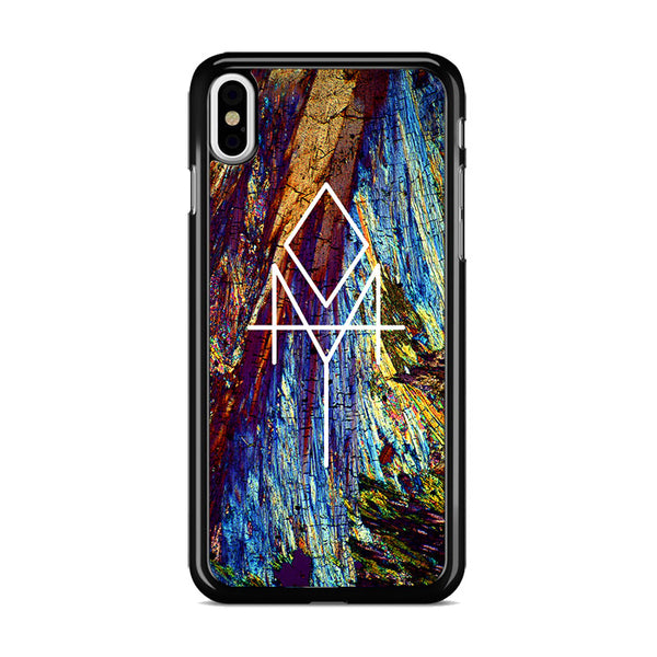 Bohemian Rusted Wood iPhone XS Case